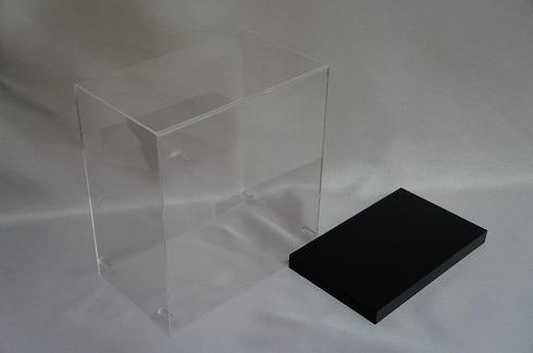 角型 商品展示ケース(土台付)